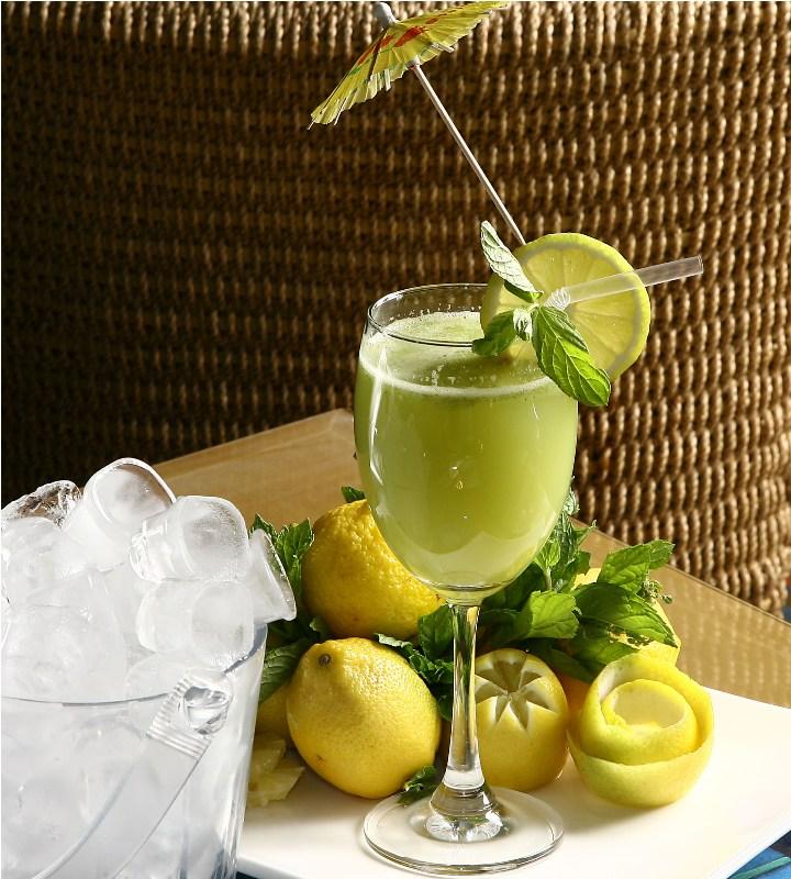 عصير الليمون المنعش