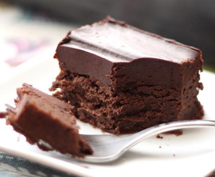 كيك الشوكولاتة البارد  مطبخ سيدتي