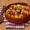 بالفيديو-أسرع-وصفة-للدجاج-المشوي-مع-الأرز-بالبرتقال