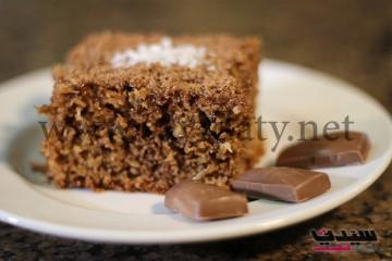 بالفيديو البسبوسة بشوكولاتة الجالاكسي