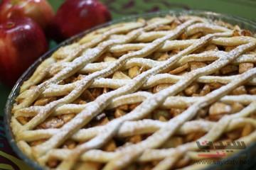 فطيرة التفاح خطوة بخطوة بالصور
