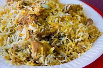 الأرز البرياني على الطريقة الباكستانية