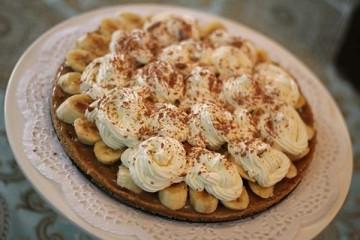 طريقة عمل حلى البانوفي (Banoffee Pie)
