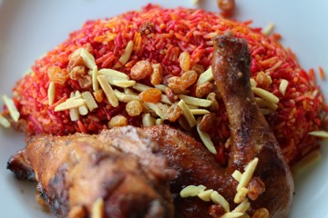 طريقة اعداد برياني الدجاج الشهي  Chicken-biryani