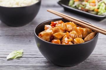دجاج بالخضار على الطريقة الصينية للرجيم