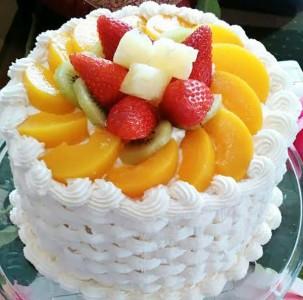 طريقة عمل كيكة الفواكة سهلة وبسيطة  Fruit-cake