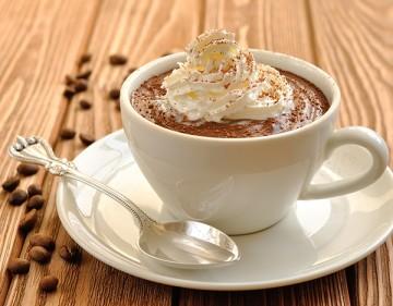 عمل مهلبية بالقهوة والكريمة Nescafe-pubdding