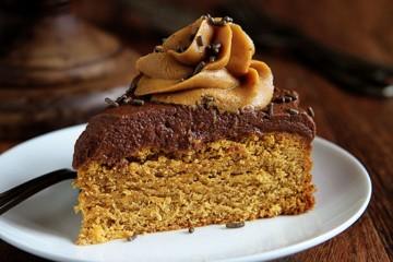 وصفة عمل كيكة زبدة الفول السوداني المغلفة بالشوكولاتة Pbcake1