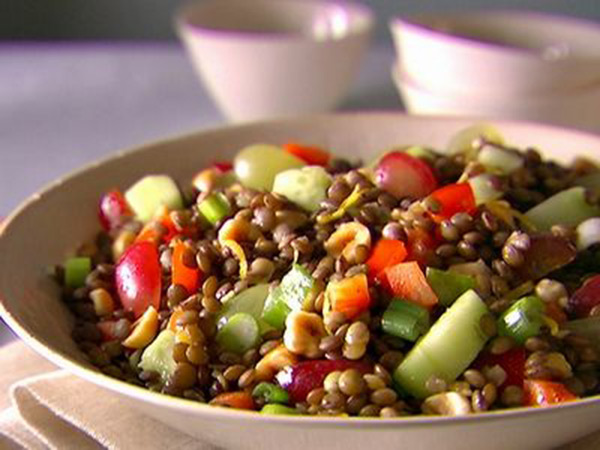 عمل سلطة العدس للرجيم  Lentil-Salad-monic-