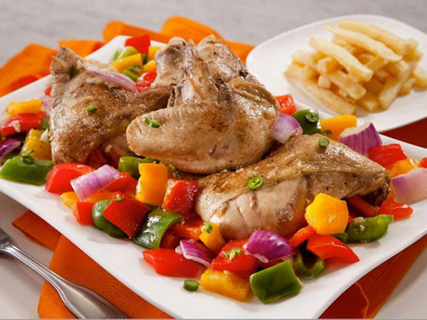 دجاج بالفلفل من مطبخ منال العالم