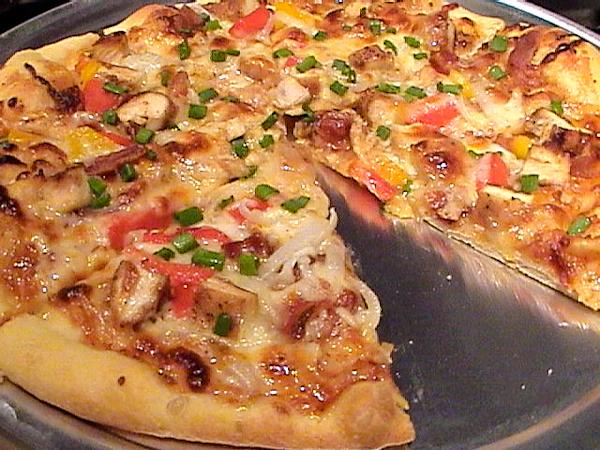 اسهل طريقة لعمل بيتزا الدجاج للريجيم Chicken-pizza