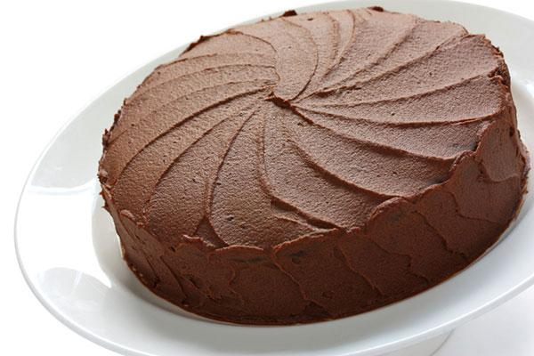 الحلويات الشوكولاتة الخفيفة والهشة