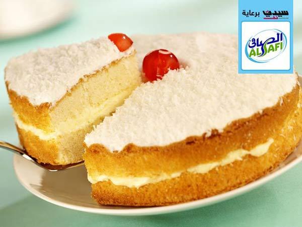 طريقة تحضير كعكة جوز الهند Coconut-cake