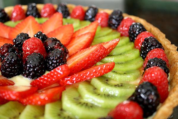 الحلويـــات فطيرة الفاكهة