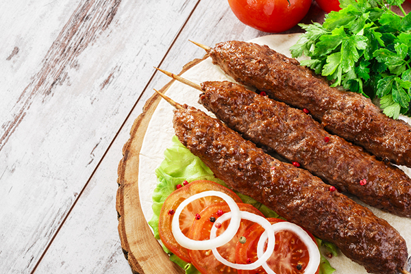 طريقة تحضير الكباب العراقي  Kebab--