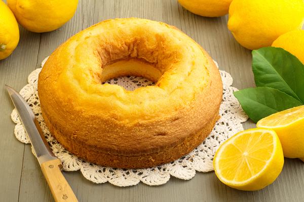 طريقة إعداد كيكة الليمون الخفيفة Lemon-cake