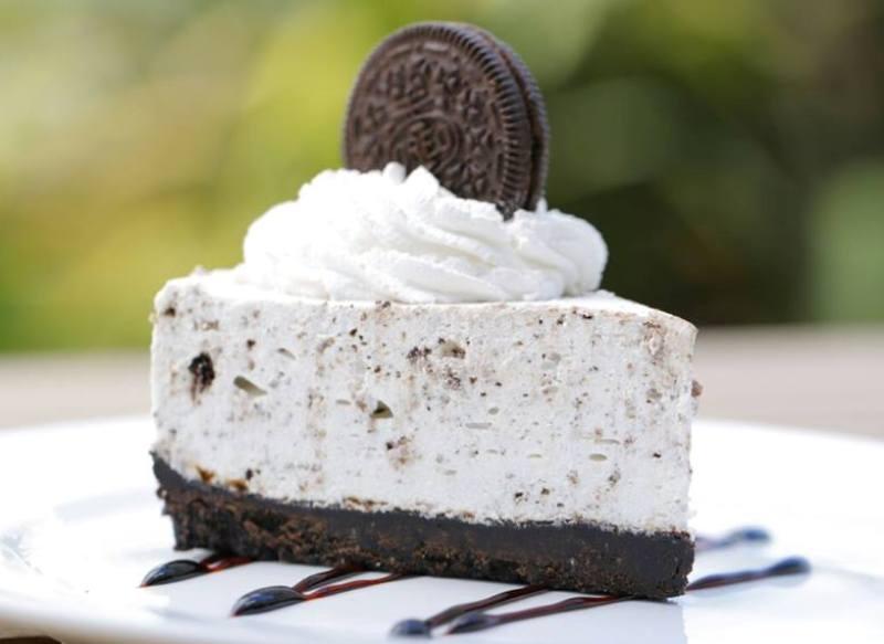 طريقة تحضير تشيز كيك ببسكويت الاوريو  Orio_cheese_cake