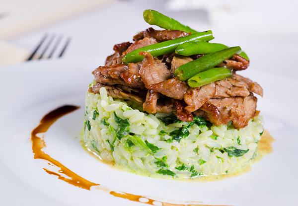 الرز الأخضر باللحم للرجيم