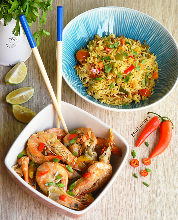 shrimp-with-rice