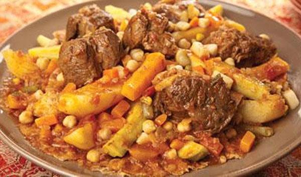 ثريد اللحم على الطريقة الخليجية
