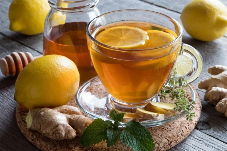 مشروب الزنجبيل بالليمون والعسل الصحي