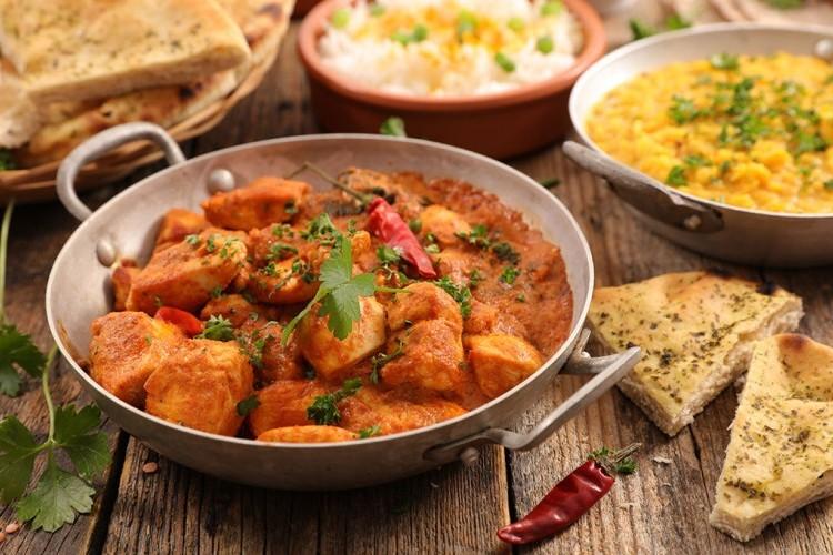 الدجاج بالزبدة على الطريقة الهندية