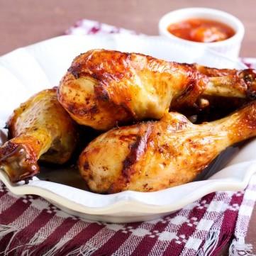 دجاج بالعسل والصويا