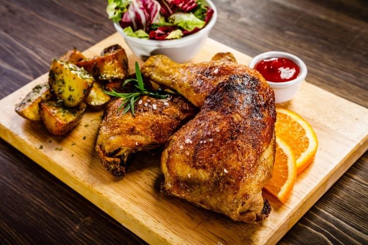 خلطة تحمير الدجاج