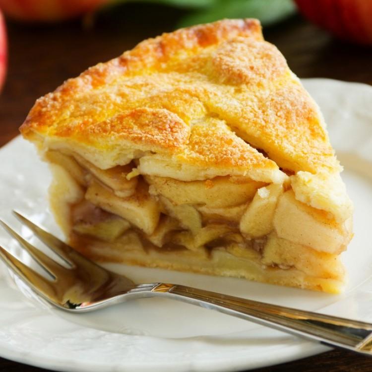 فطيرة التفاح