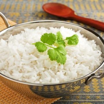 أرز بسمتي سادة مفلفل