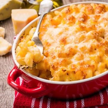 مكرونة بالجبن و الحليب للسحور