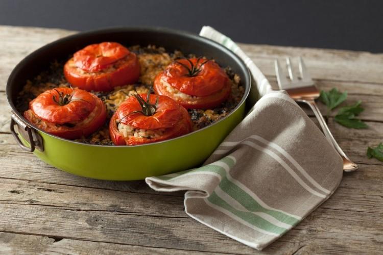 طماطم محشية بالأرز