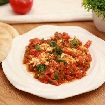 حمسة الطماطم مع الجبن الكريمي بالفيديو