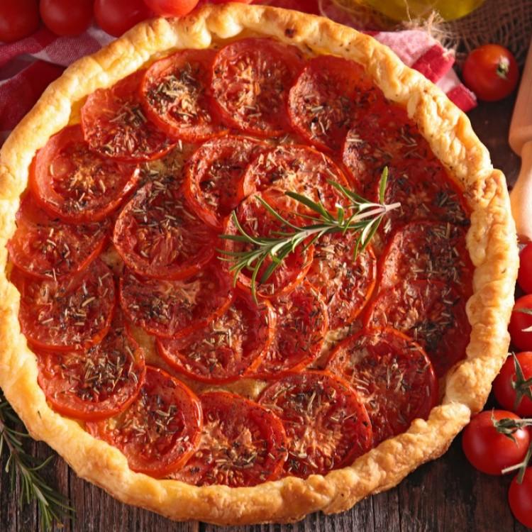 فطيرة الطماطم لمقبلات مميزة