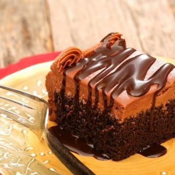كيك شوكولاتة سهل وسريع