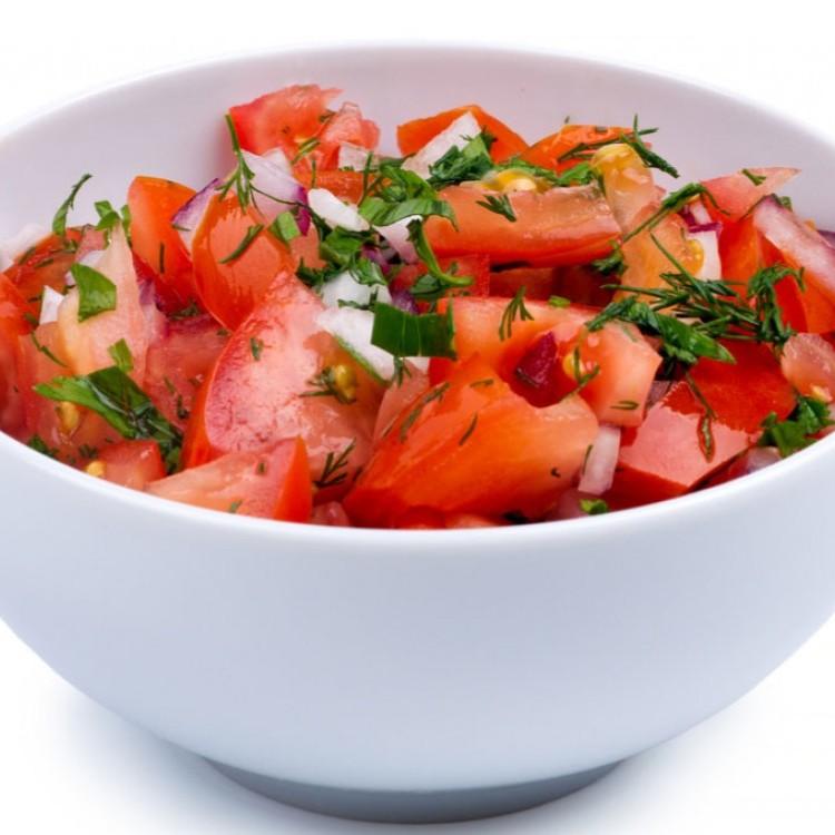 سلطة الطماطم التركية الحارة