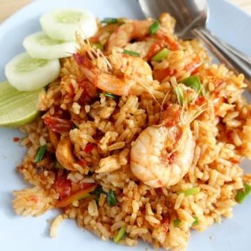 أرز صيادية بالجمبري