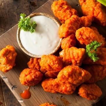 دجاج بوفالو تندر حار