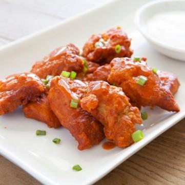 تندر دجاج بصوص البافلو لمقبلات شهية