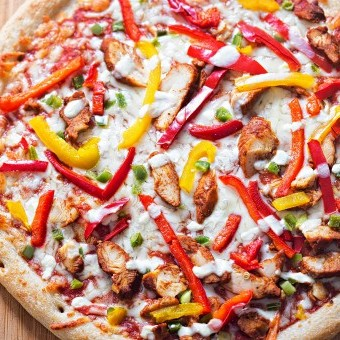 بيتزا فاهيتا الدجاج