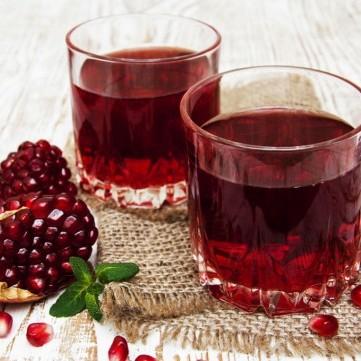 عصير الرمان لزيادة المناعة