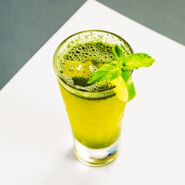 عصير الليمون بالزنجبيل