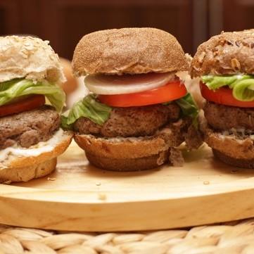 برغر اللحم الصحي بالفيديو