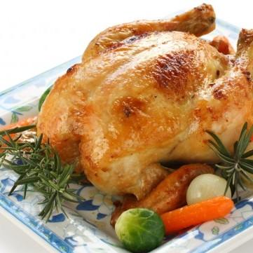 دجاج مشوي بالفرن لرجيم مثالي
