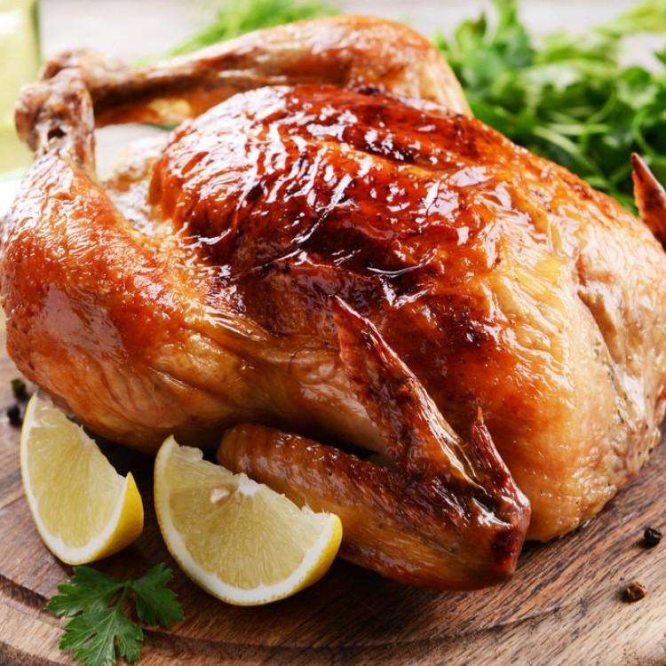 السعرات الحرارية في الدجاج المسلوق