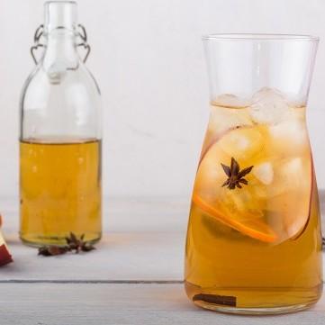 عصير التفاح بالتوابل