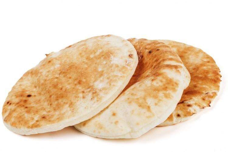 الخبز العربي في المنزل