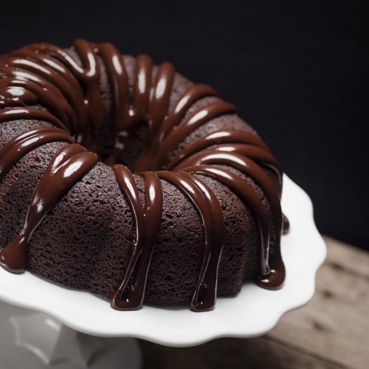 كيكة الشوكولاتة بالصوص