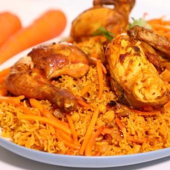 الأرز البخاري بالفيديو