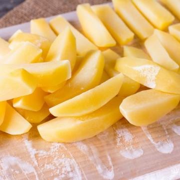 طرق تجميد البطاطس في الفريزر